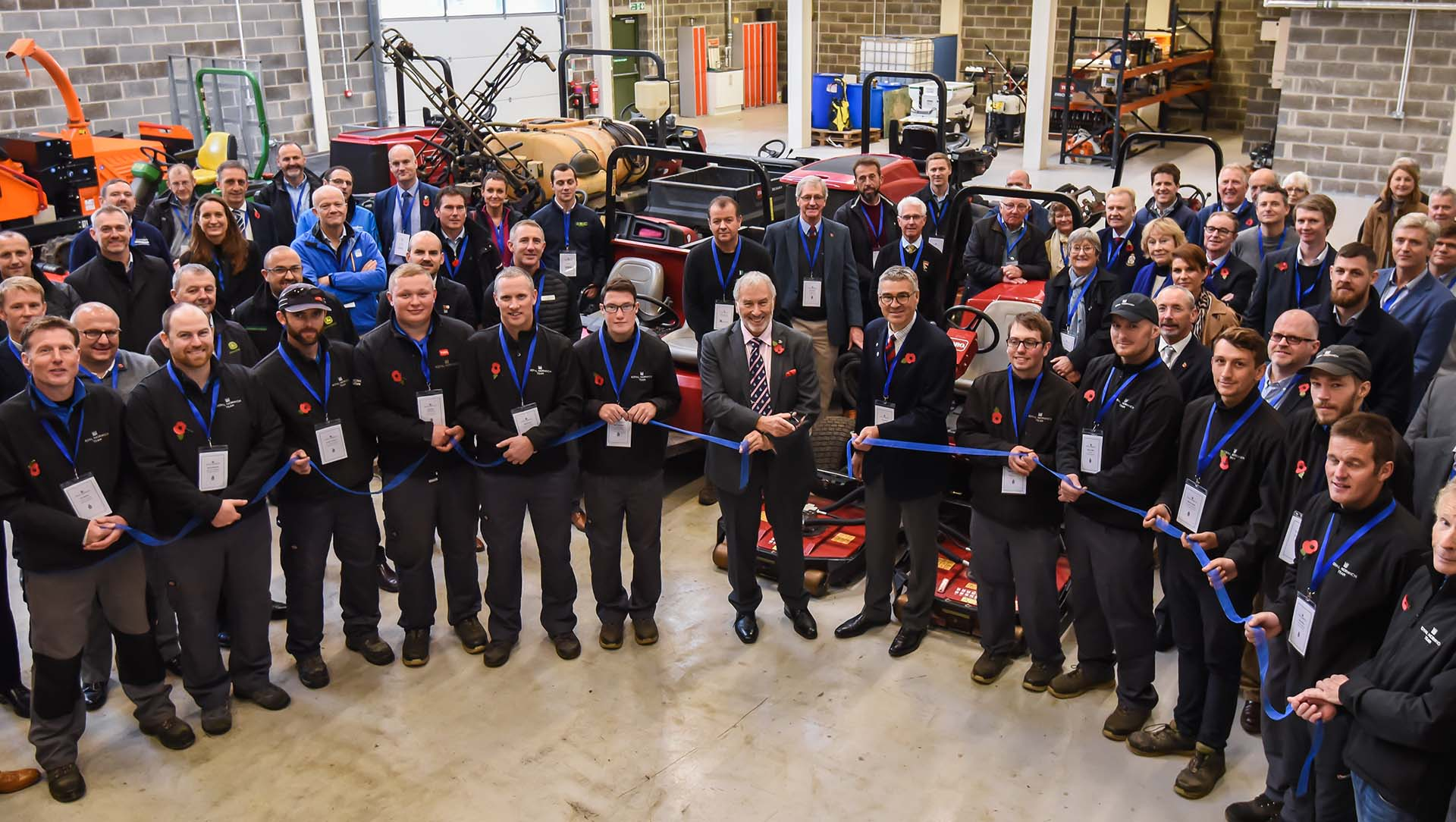 Centre of Excellence opening at Royal Norwich