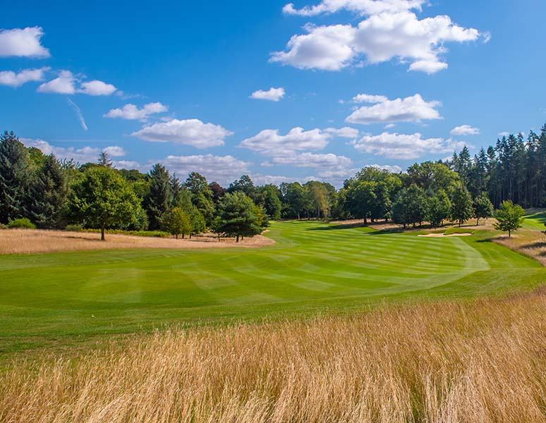 8th hole at Royal Norwich