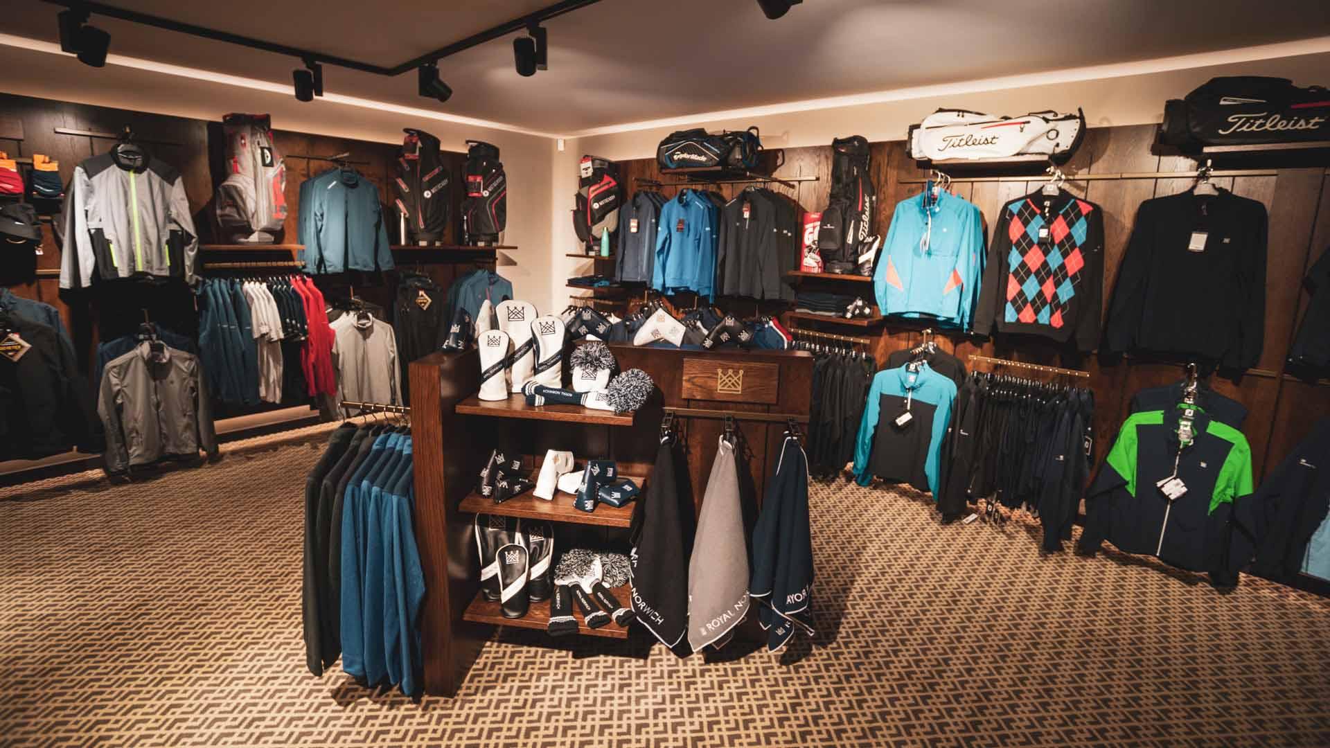 Royal Norwich pro shop
