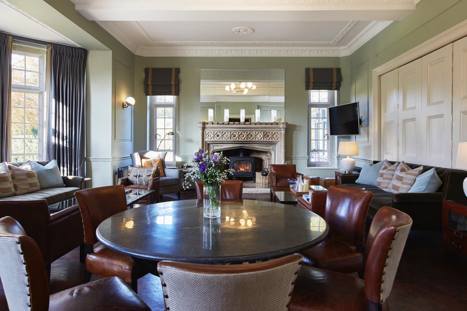 Members lounge at Royal Norwich
