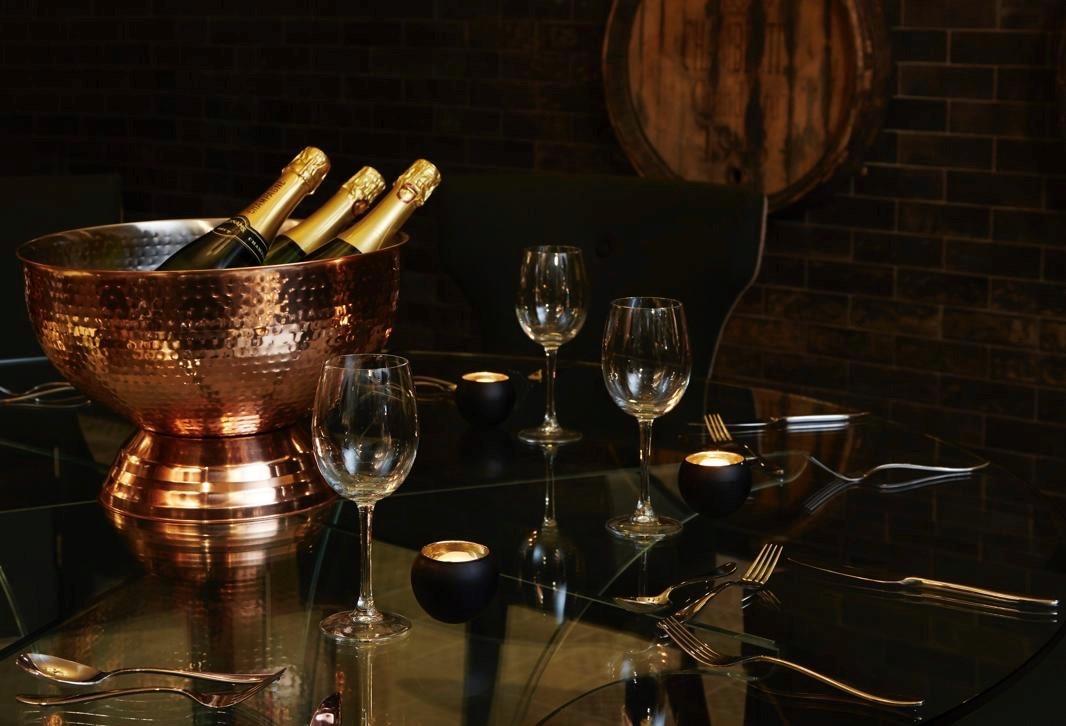 Champagne at Royal Norwich