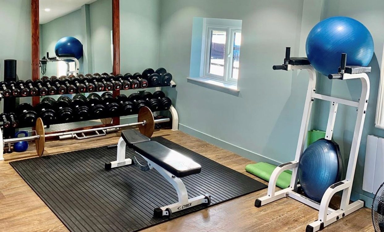 Fitness studio at Royal Norwich
