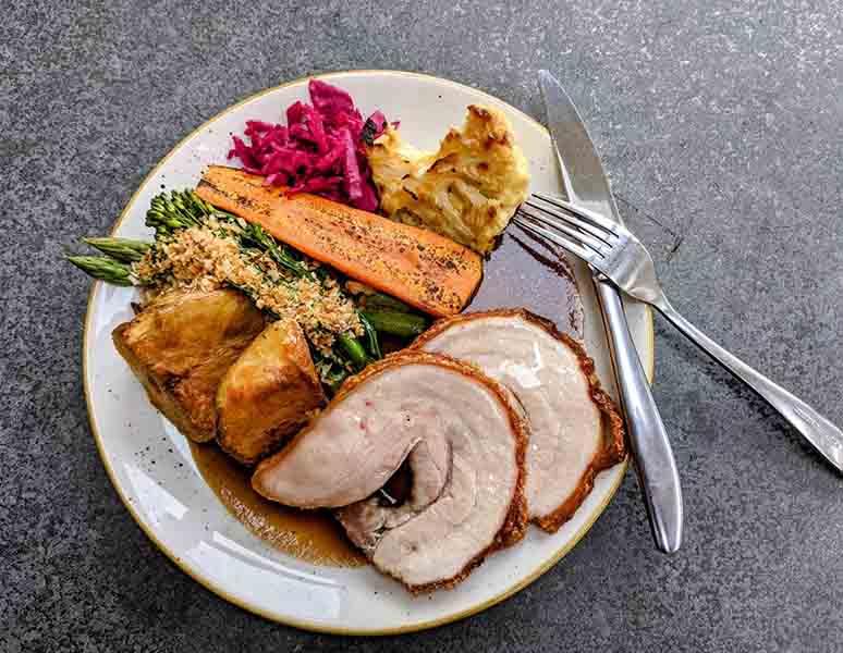 Roast Pork - Sunday Lunch