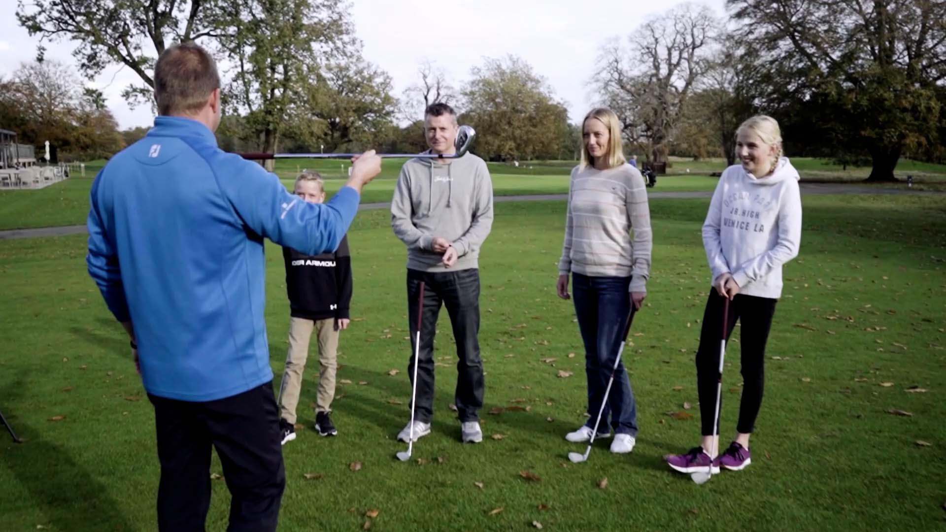 Get into golf lessons