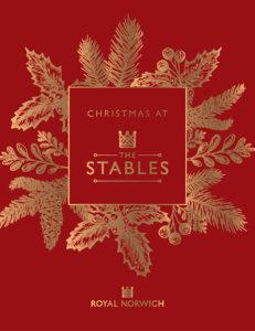 Stables Christmas Brochure